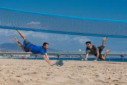Beach tennis net blauw - 1115006