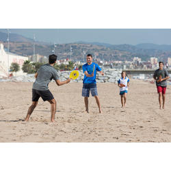 Beachtennis-Set Woody gelb