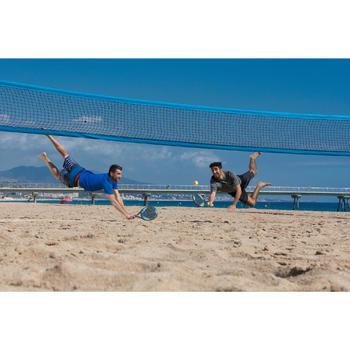 Set Palas y Pelota Tenis Playa Artengo BTR 700 Discover Gris