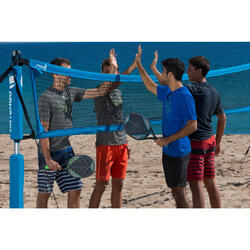 Beach tennis set Solid grijs - 1115017