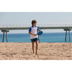 Set raquettes Beach Tennis woody rackets Bleu