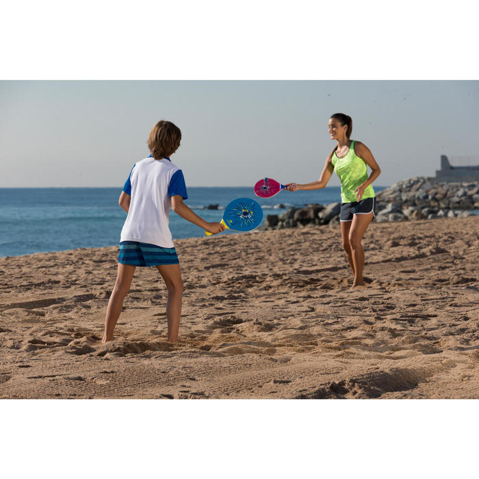 Beachtennis-Set Woody pink