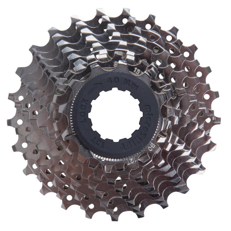 PŘEVODY NA KOLO Cyklistika - SILNIČNÍ KAZETA 9 RYCHL. 12×25 BTWIN - Náhradní díly na kolo