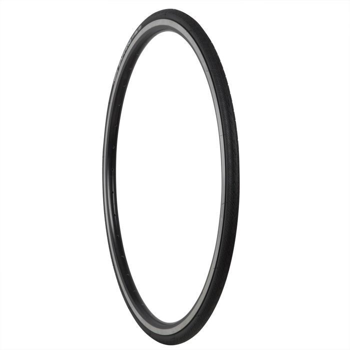 Buitenband racefiets, Zaffiro IV 700x23 zwart draadband ETRTO 23-622