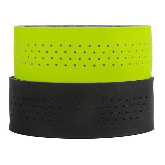 Tweekleurige stuurlinten geel/zwart