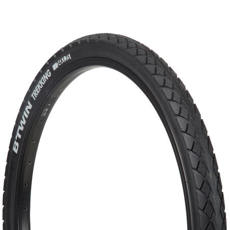 Ban Sepeda Hybrid 24x1.75 / ETRTO 44-507 dengan Bead Kaku