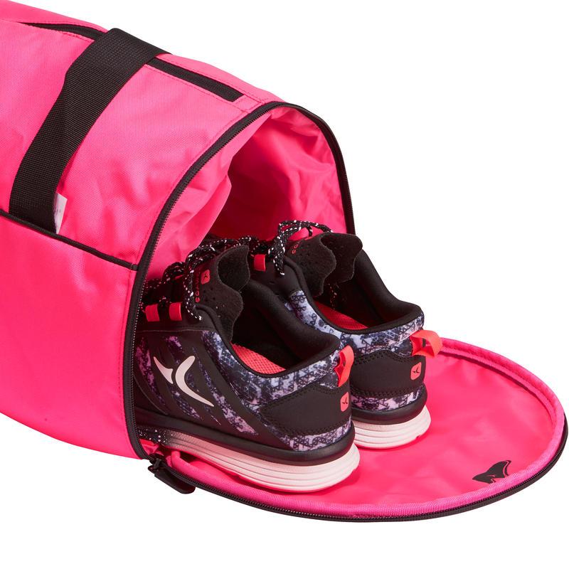 sac tube medium fitness rose fluo decathlon martinique. Black Bedroom Furniture Sets. Home Design Ideas