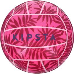 BV100 Outdoor Mini Beach Volleyball - Pink Leaf
