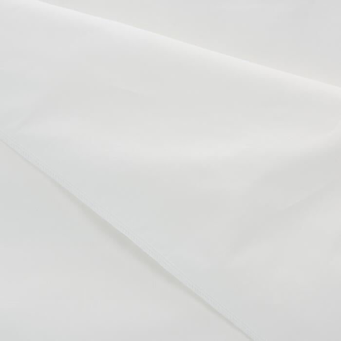Lakenzak katoen beige