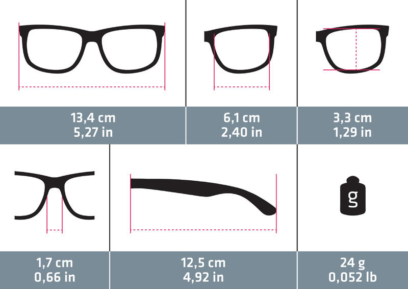 Adults Category 3 Hiking Sunglasses MH120