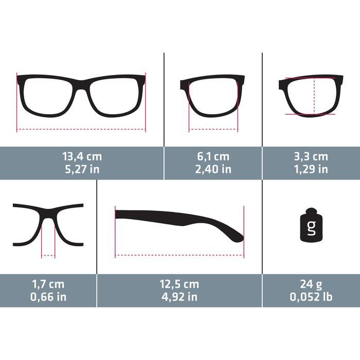 Sonnenbrille MH120Bergwandern Erwachsene Kategorie3 schwarz