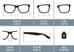 Fietsbril volwassenen Cycling 700 Red Pack - 4 verwisselbare glazen - 1115668
