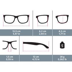 Sonnenbrille Sportbrille MH530 polarisierend Kategorie 3 Damen braun