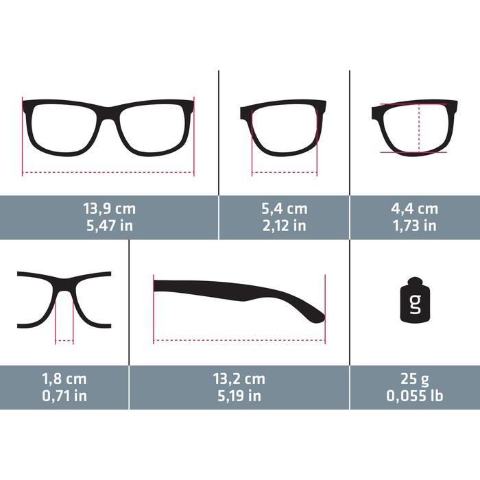 lunettes de soleil de marche sportive adulte WALKING 400 bleues catégorie 3 - 1115702