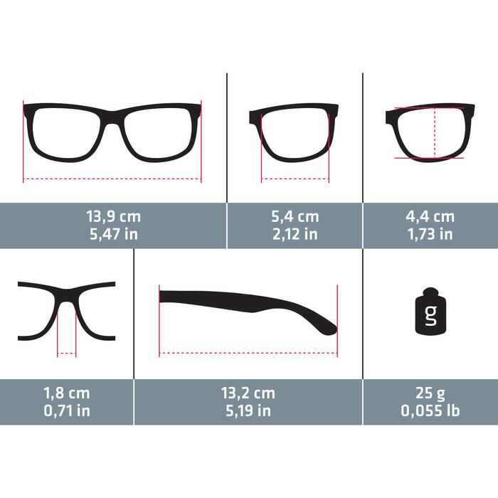 lunettes de soleil de randonnée adulte MH 540 bleues catégorie 3 - 1115735