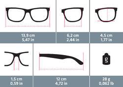 Women's Category 3 Polarizing Hiking Sunglasses MH530W - Black