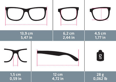 Жіночі сонцезахисні окуляри MH530 для туризму, кат. 3 - Чорні