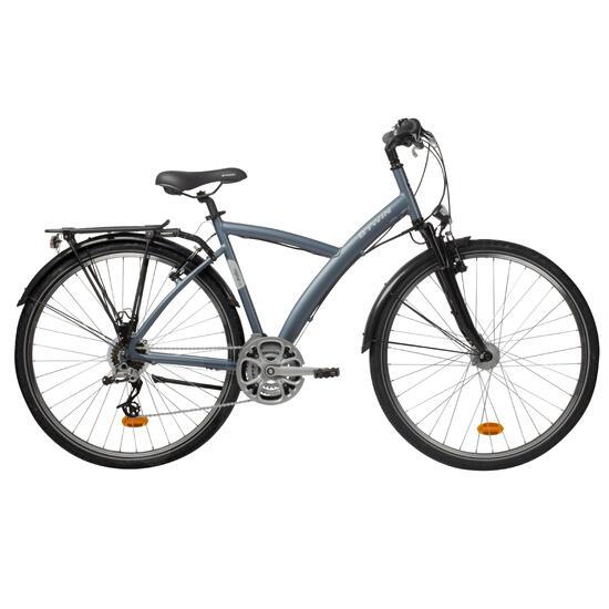 B Original 520 Hybrid Bike Grey Blue Hybrid Bikes