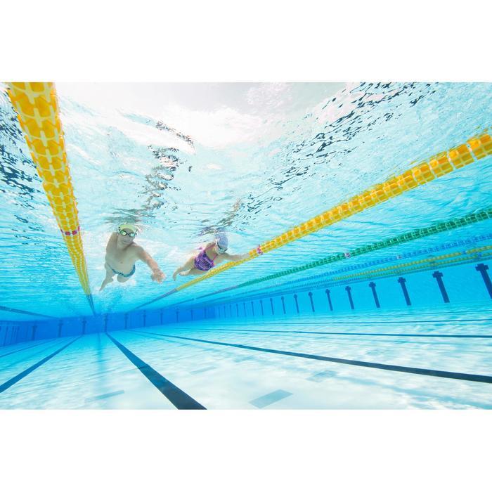 Schwimmbrille verspiegelt 500 Spirit Größe L schwarz/grau
