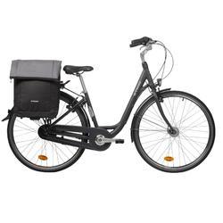 Fahrradtasche Trolley 900 35 Liter schwarz/grau