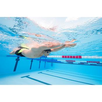 Swedish Swimming Goggles - Mirrored Yellow Silver - 1115983