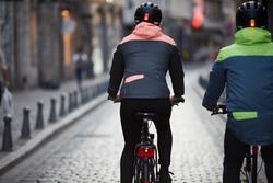 Warme fietsregenjas 900 dames reflecterend - 1116033