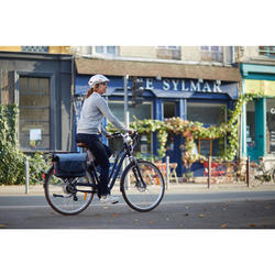 "E-Bike City Bike 28"" Elops 900E LF Damen blau"