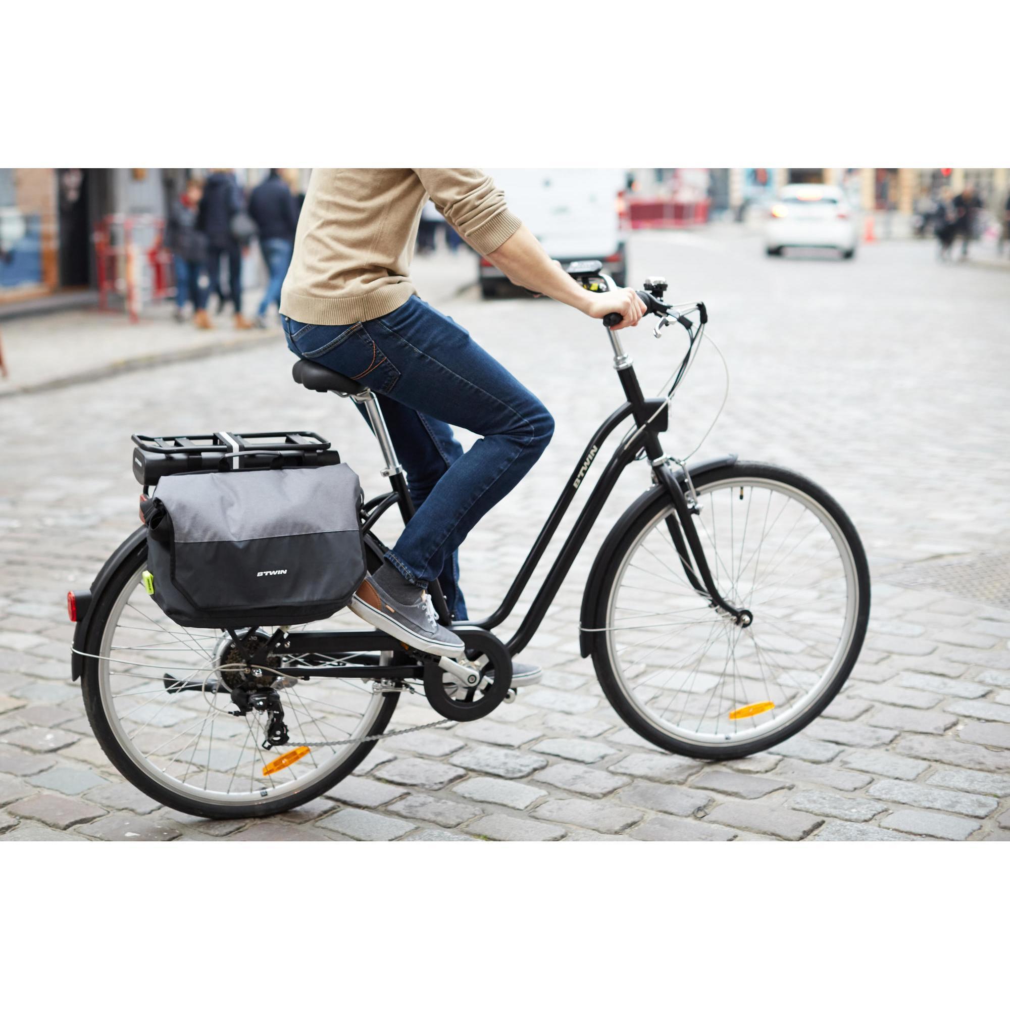 Sac Sacoche Étui Selle Siège Rangement Pannier Pour Vélo Bicyclette Cyclisme NF