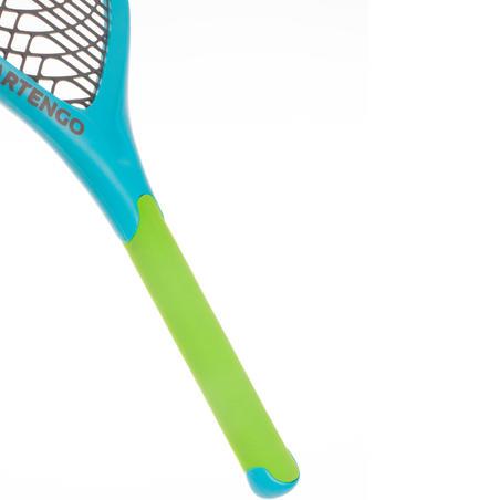 """Komplekts """"Funyten"""": 2 raketes un 1 bumba, zils/zaļš"""