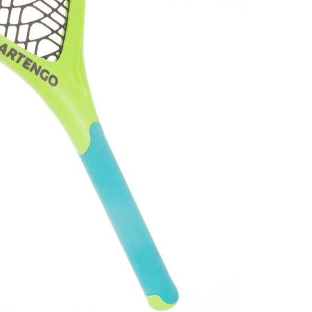 Set de 2 Raquetas de tenis de plástico Funyten azul verde