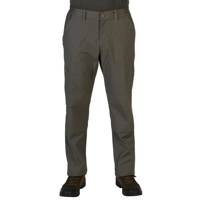 Pantalon chasse 100 léger et respirant vert