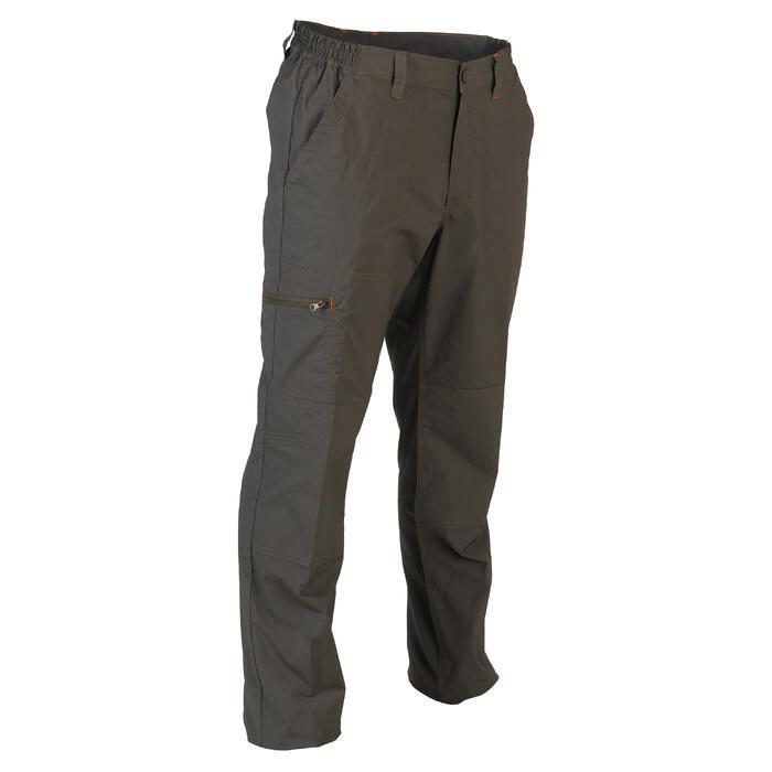 Pantalon chasse 100 léger et respirant vert - 1116365