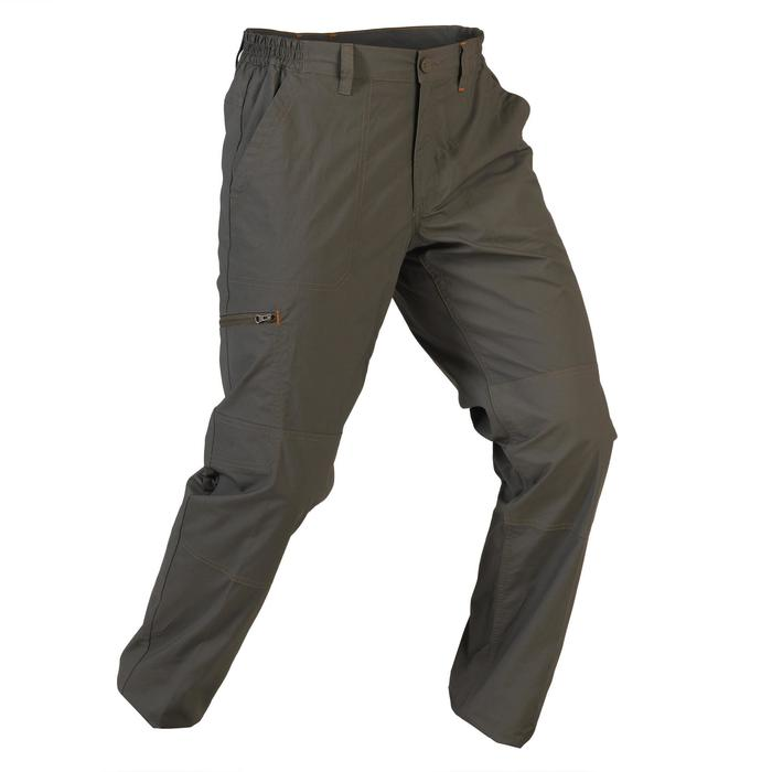 Pantalon chasse 100 léger et respirant vert - 1116367