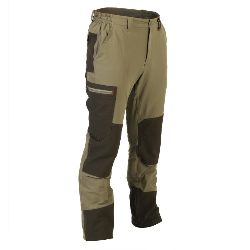 Light breathable and hard-wearing cargo trousers 520 green