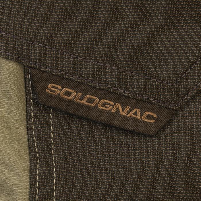 Pantalon léger respirant et résistant chasse 520 vert