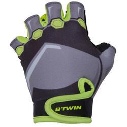 Dark Hero Children's Bike Gloves - Black/Yellow