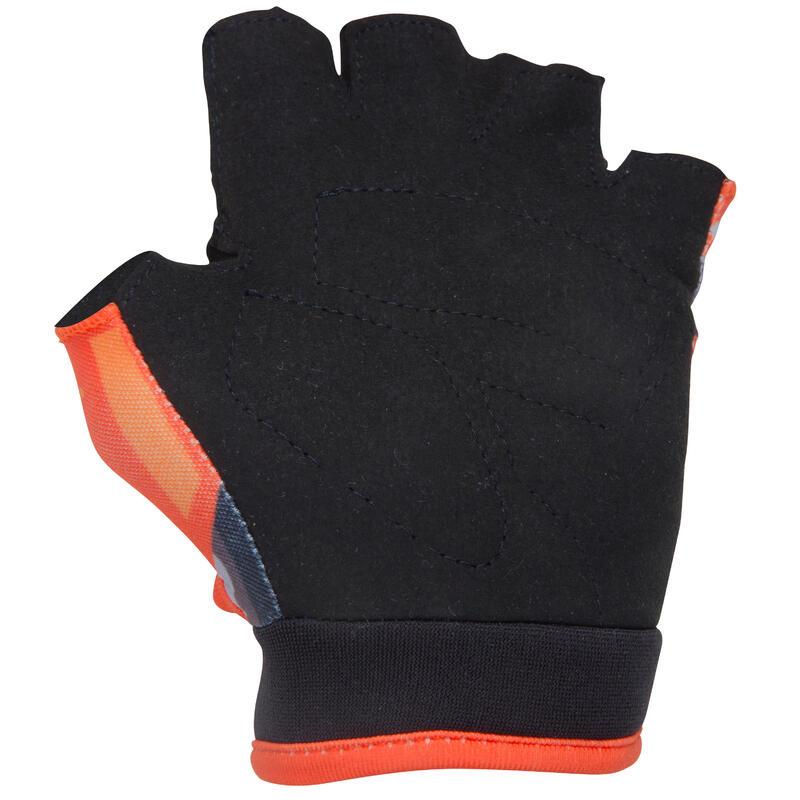 Robot Children's Bike Gloves - Orange