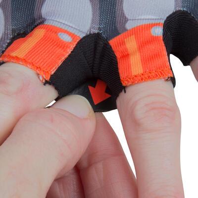 Дитячі велосипедні рукавички, Робот - Помаранчеві