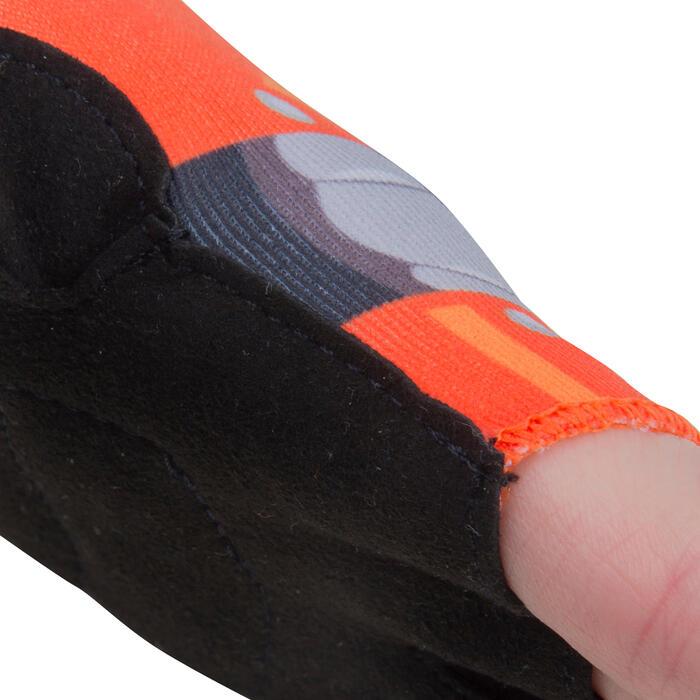 Fietshandschoenen voor kinderen Robot oranje