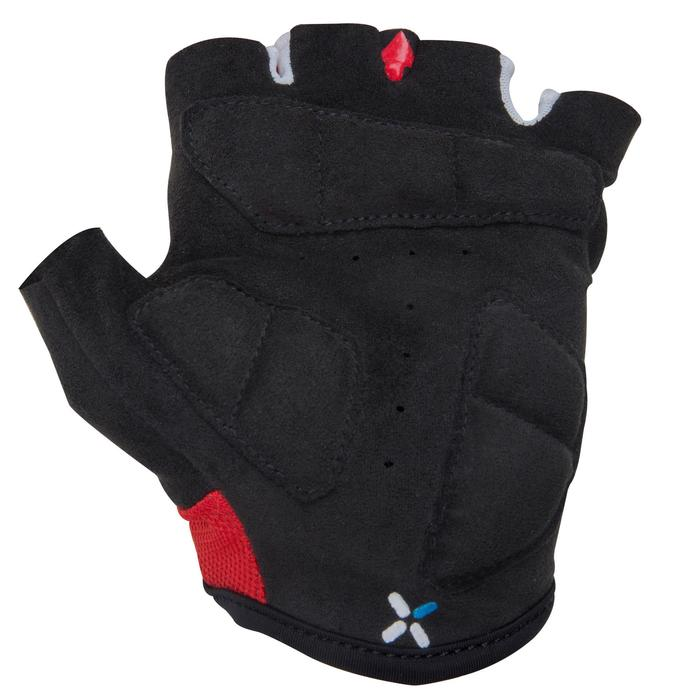 500 Junior Cycling Gloves - Blue - 1116432