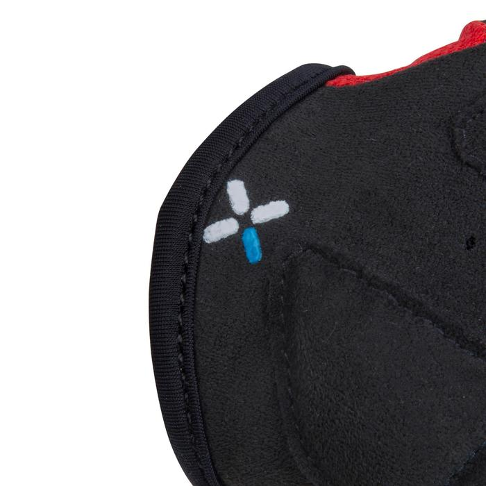 500 Junior Cycling Gloves - Blue - 1116437