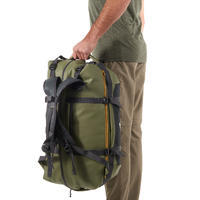 Bolsa de transporte Trekking Viaje extend de 40 a 60 l Caqui