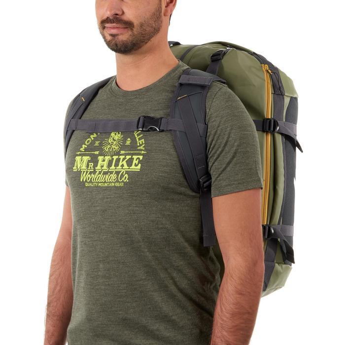 Trekkingtasche Duffel Extend 40/60 Liter khaki