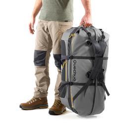 Bolsa Viaje de Montaña y Trekking Forclaz Extend de 80 a 120 Litros Gris