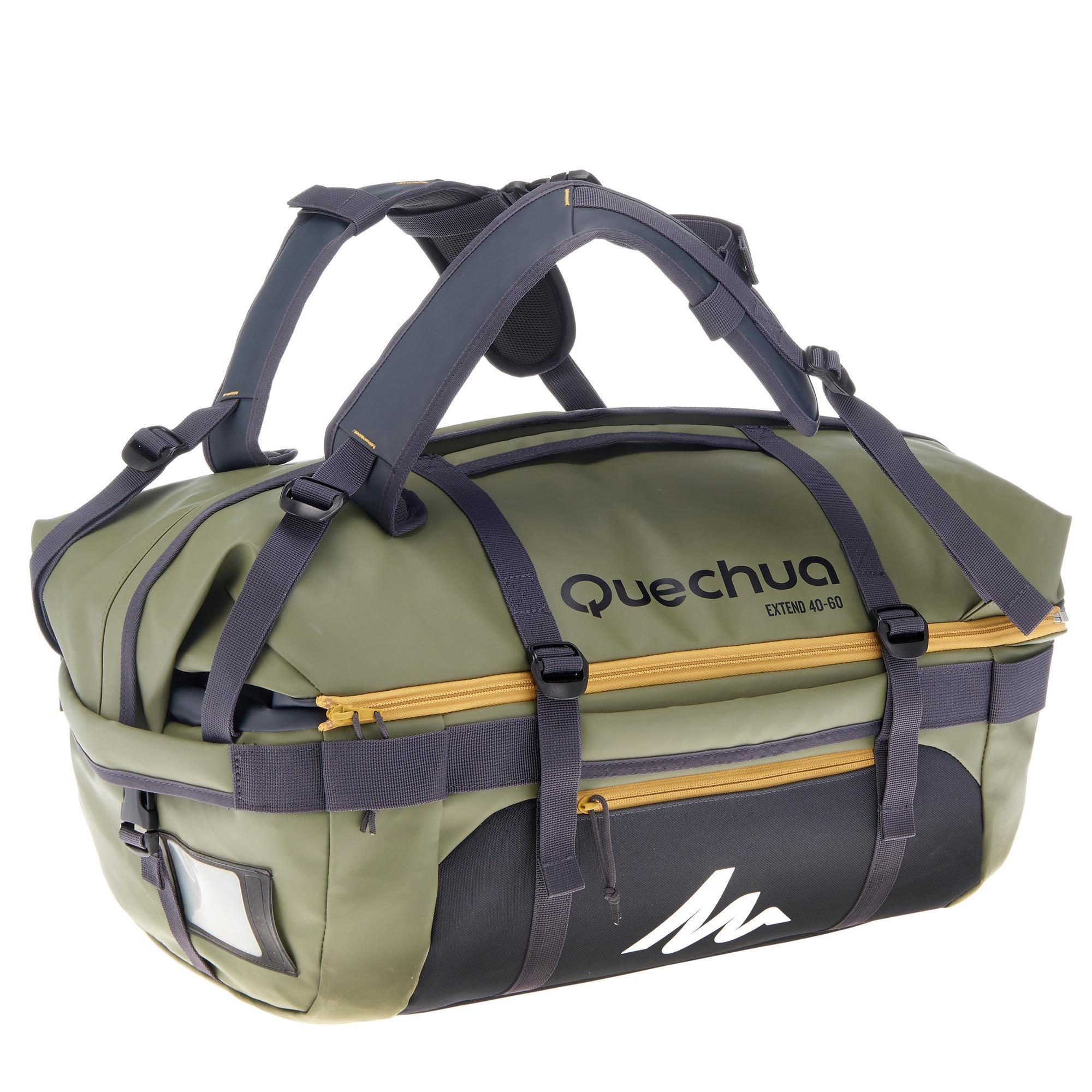 sac de transport trekking voyage extend 40 60 litres. Black Bedroom Furniture Sets. Home Design Ideas