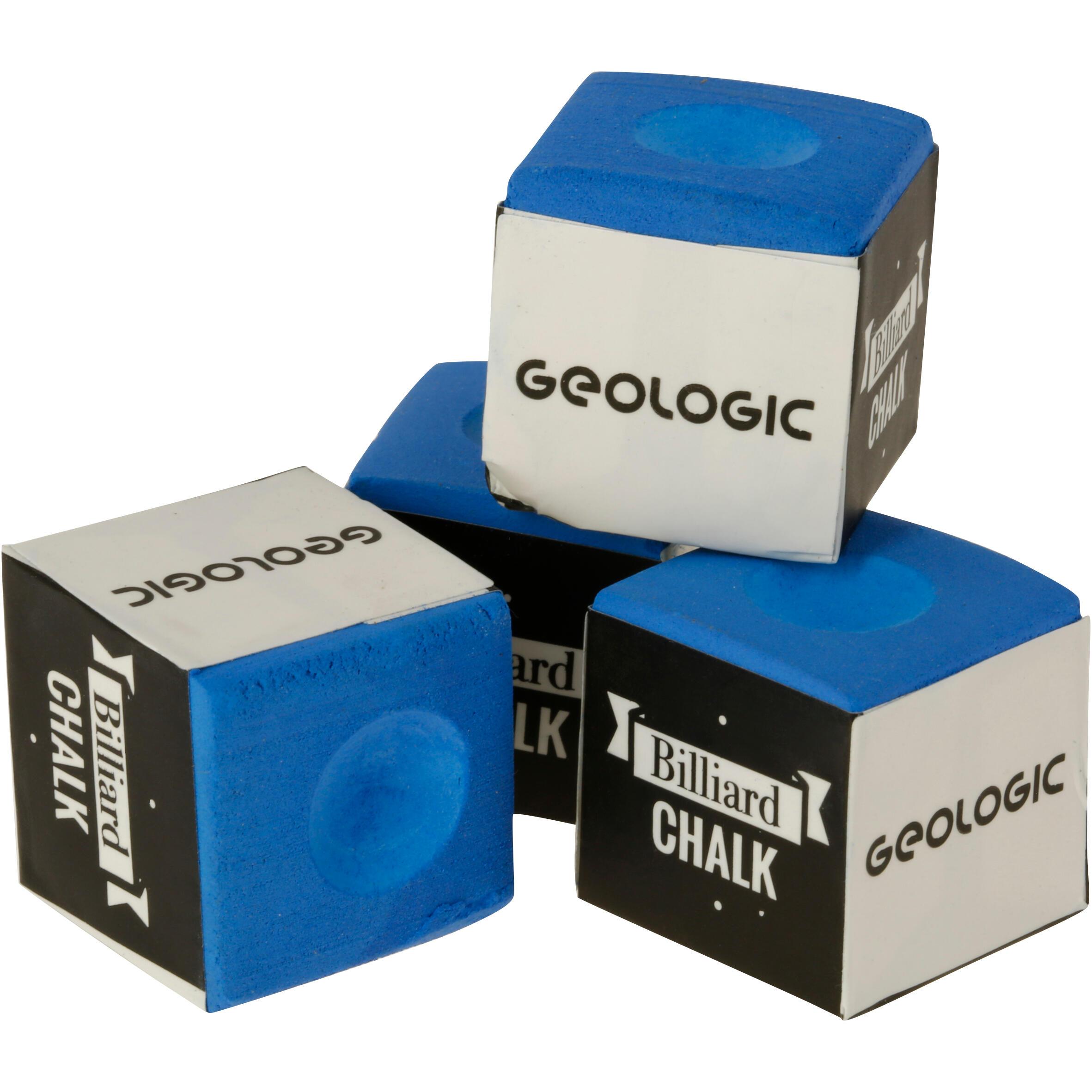 Geologic Set van 4 biljartkrijtjes