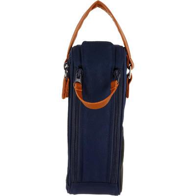 Semi-Rigid Bag for 3 Petanque Boules - Blue
