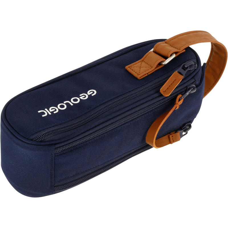 Semi-Rigid Bag for 3 Petanque Balls - Blue