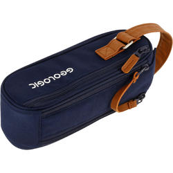 Semi-Rigid Bag for 3 Petanque Boules - Blue