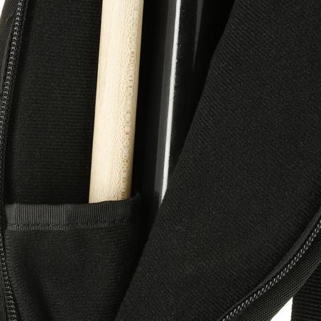 Soft Billiards Case for Billiards Cue - Black/Grey